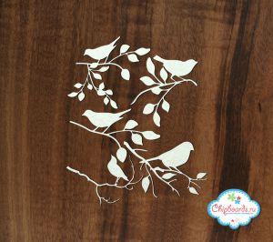 Птицы на ветке (3) ― Магазин-производство товаров для рукоделия и скрапбукинга.