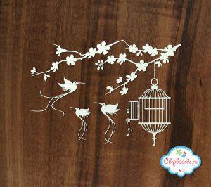 Клетки с птичками (5) ― Магазин-производство товаров для рукоделия и скрапбукинга.