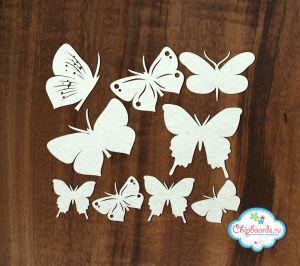 Набор бабочек ― Магазин-производство товаров для рукоделия и скрапбукинга.