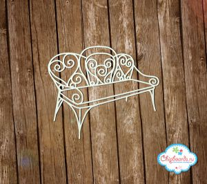 Резная скамейка ― Магазин-производство товаров для рукоделия и скрапбукинга.
