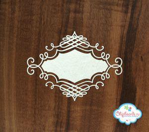 Викторианская резная рамка ― Магазин-производство товаров для рукоделия и скрапбукинга.